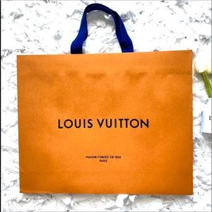 "Louis Vuitton Medium Gift Bag 18 3/4"" x 15 1/4"""
